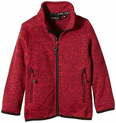CMP Giacca in pile, da donna, Ginger-Ketchup, 104, 3H19925 [Rosa  NUOVO