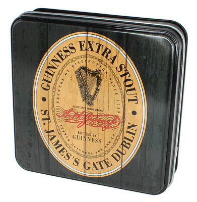 Guinness Gift Tin Of Fudge With The Heritage Extra Stout Label Design, 100g
