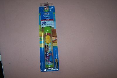 Disney Doc McStuffins Oral-B Pro-Health Stages Soft Power Brush Toothbrush NEW