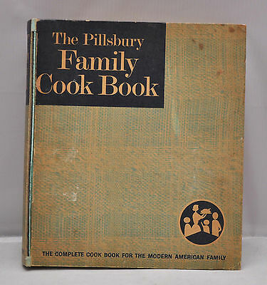 vtg pillsbury family cookbook 1963 ringed binder recipe book hard