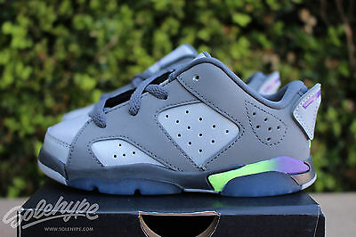 0a45534db16d5 JORDAN 6 RETRO Low GT Girls Toddlers Shoes Dark Grey Ultraviolet ...