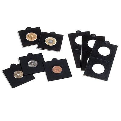 Self Adhesive Black Coin Holders 22.5mm for 2 Cent, Sixpence and $2 coins