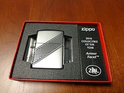 Armor Facet Collectible Of The Year Coy Zippo Lighter Mint 2016 #10836/13000