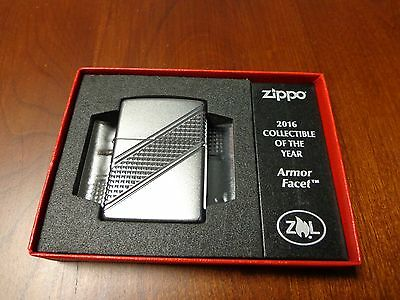 Armor Facet Collectible Of The Year Coy Zippo Lighter Mint 2016 #11006/13000