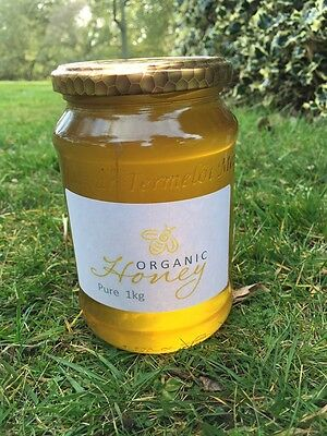 Organic pure honey 250g / 500g / 1kg