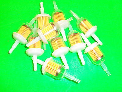 """BBT REPLACEMENT INLINE  FUEL FILTER 1//4/"""" FITS JOHN DEERE AND MANY BRANDS 14514J"""