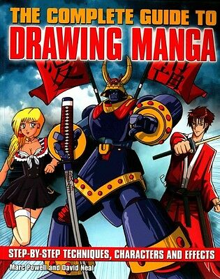 The Complete Guide to Drawing Manga by Marc Powell Paperback Book (English)