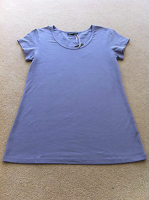 Maternity Plus - Short Sleeve T Shirt - Lilac - Bnwt - Size M