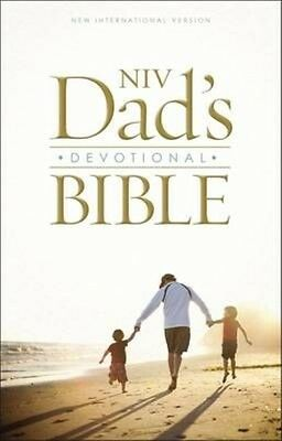 Niv Dad's Devotional Bible by New International Version Hardcover Book