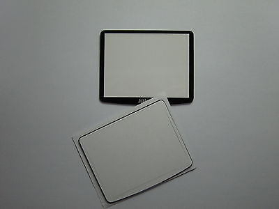 Window Display Outer Glass For Nikon D90 LCD External Screen With tape