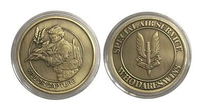 British Army Special Air Service / Kill or Capture Military Challenge Coin Token