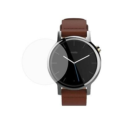 Moto 360 2nd Gen Watch (42mm) Tempered Glass Screen Protector 100% Premium