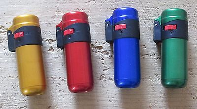 Zenga Wind Proof Jet Flame Lighter - Windproof Refillable & Electronic Ignition