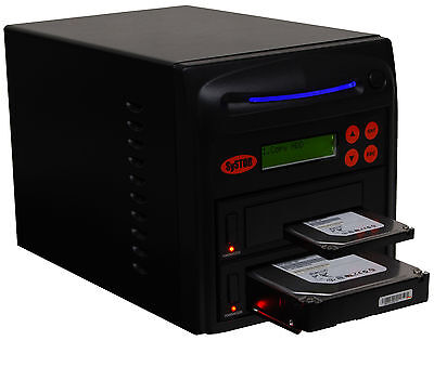 "SySTOR 1-1 SATA 2.5""&3.5"" Dual Port/Hot Swap Hard Drive HDD/SSD Duplicator/Wipe"