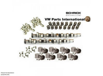 VW GOLF MK3 VR6 Performance Complete Schrick Camshaft Kit with 268° sync Bran...