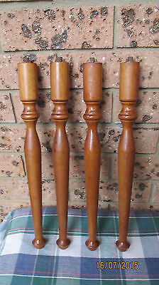 Authentic Art Deco/vintage Oak  furntiure legs