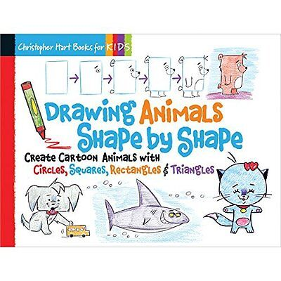 Drawing Animals Shape by Hart Sixth Spring Books Spiral bound 9781936096954