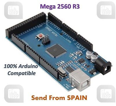 High Quality Mega 2560 R3 Board for Arduino 100% Compatible