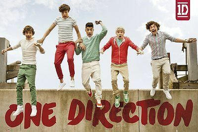 """1art1 59824, Poster """"One Direction - Jumping"""", 91 x 61 cm NUOVO"""