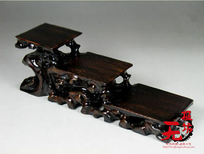 Artistic Chinese Pure Manual Hardwood Base Superior Quality