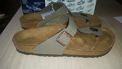Reduced - Birkenstock - Gizeh - Stone - Rrp $122 Save $27
