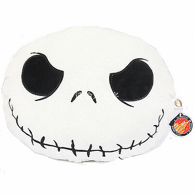 The Nightmare Before Christmas Figure Jack Skellington Face Plush Cushion Pillow