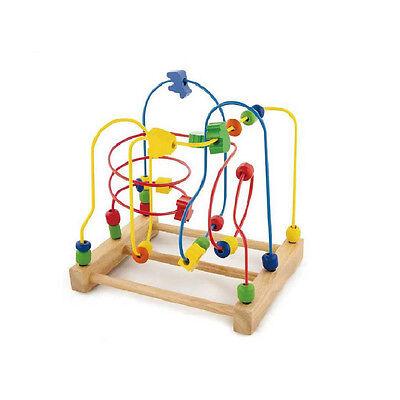 Viga Toy Wooden Wire Beads Maze Kid Educational Toy