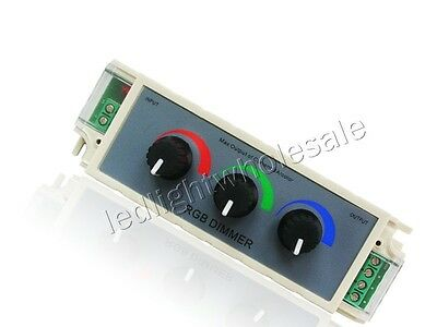 3 Channels RGB Led Dimmer For RGB Led Strip Light Bulb Lamp DIY