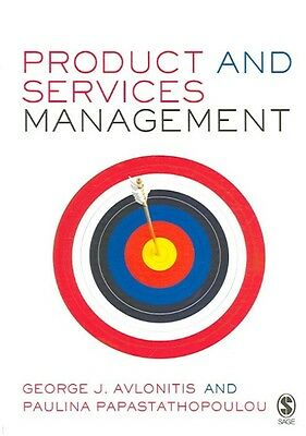 Product and Services Management by George J. Avlonitis Paperback Book (English)
