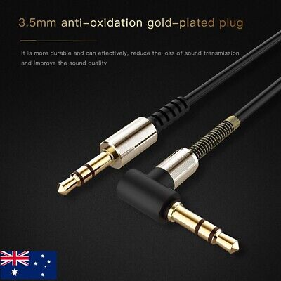 AUX Cable 3.5mm Stereo Audio Cord Male to Male for Phones Tablet MP3 iPad Car HQ