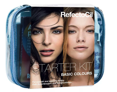 Refectocil Starter Kit Basic Colors for Eyebrows and Eyelashes