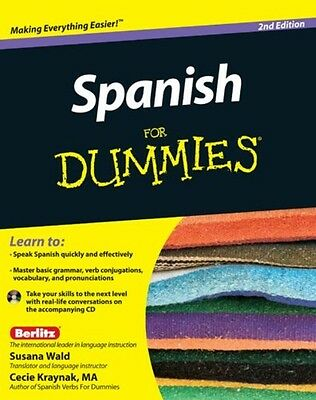 Spanish For Dummies by Susana Wald Paperback Book (English)