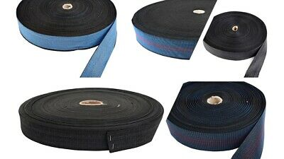 Elasticated webbing strapping sofas & chair repair UPHOLSTERY SUPPLIES