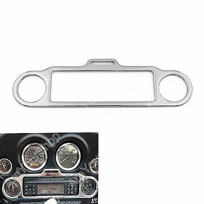 Chrome Stéréo Accent Trim Ring Cover Pour Harley Electra Glide Touring FLHX FLHT