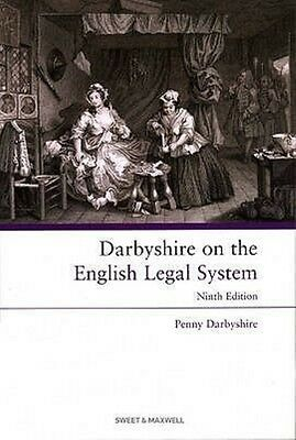 Darbyshire on the English Legal System by Penny Darbyshire Paperback Book