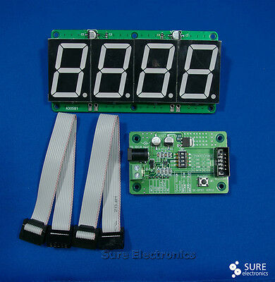 """1.5"""" Character Height 7-segment LED 4 digit  Information Board *USA"""