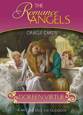 The Romance Angels Oracle Cards by Doreen Virtue (English)