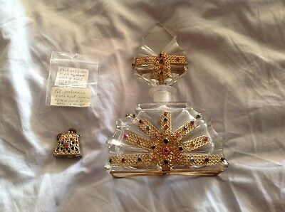 Vintage 1930's Perfume Bottle and Perfume Snuff