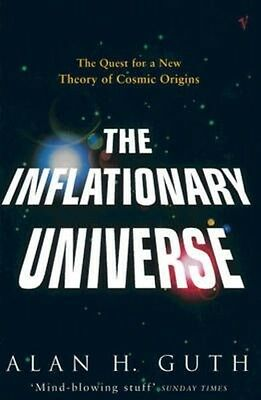 The Inflationary Universe by Alan H. Guth Paperback Book