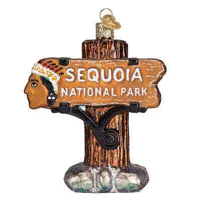 """Sequoia National Park"" (36176) Old World Christmas Ornament"