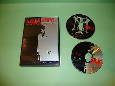 Scarface (DVD, 2003, Full Frame; Anniversary Edition)