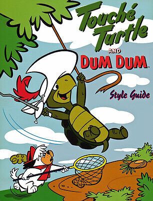 Hanna Barbera STYLE GUIDE PLATE - TOUCHE' TURTLE & DUM DUM
