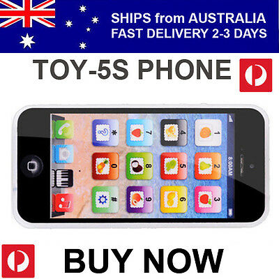 Childrens Kids Toy Phone Educational English Learning Mobile AUST STOCK