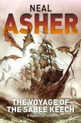 Voyage of the Sable Keech by Neal Asher Paperback Book