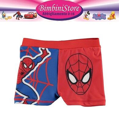 Costume Mare Piscina Spiderman Due Pezzi Originale Marvel