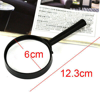 Magnifier 60mm Hand Held 5X Magnifying Reading Glass handheld Hot Selling L1Y