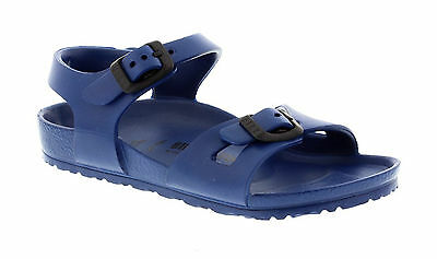 a871dfbea6dc BIRKENSTOCK KIDS RIO EVA 126123 (Narrow Fit) - Navy Sandals - EUR 16 ...