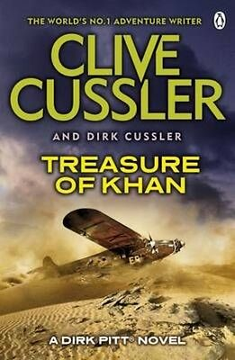 Treasure of Khan by Clive Cussler Paperback Book (English)