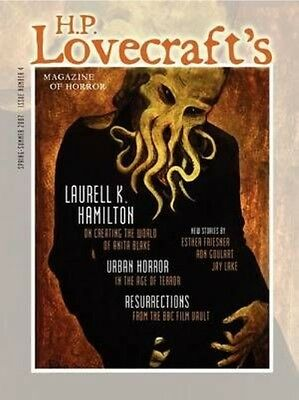 H.P. Lovecraft's Magazine of Horror #4 by Marvin Kaye Paperback Book (English)