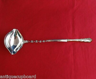 """Shenandoah By Wallace Sterling Silver Punch Ladle Twist 13 3/4"""" Hhws Custom Made"""